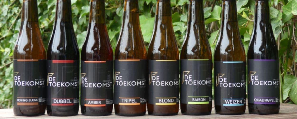 header flessen bier